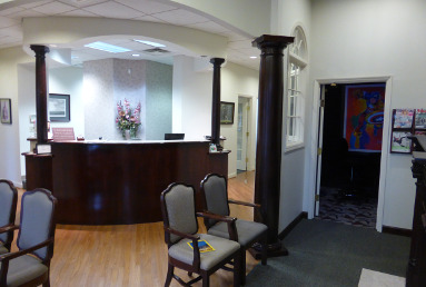 interior of Masterpiece Smiles orthodontic office in Lawrenceville