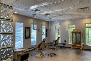 interior of Materpiece Smiles orthodontist office in Lawrenceville