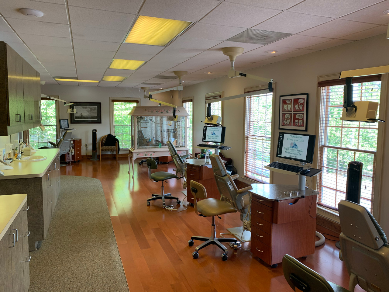 Orthodontic station at Masterpiece Smiles Marietta location