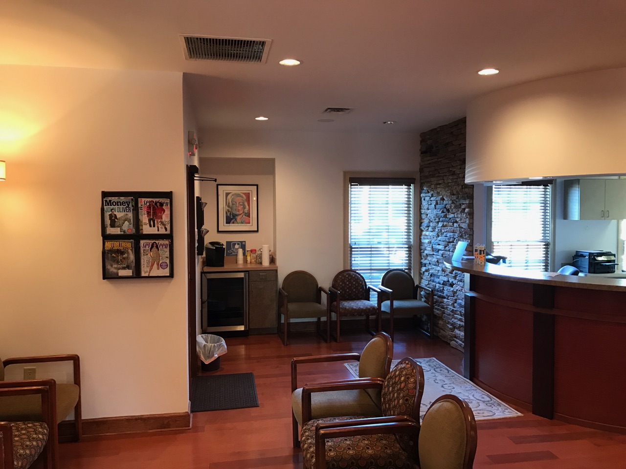 Patient waiting area at Masterpiece Smiles orthodontics office Marietta