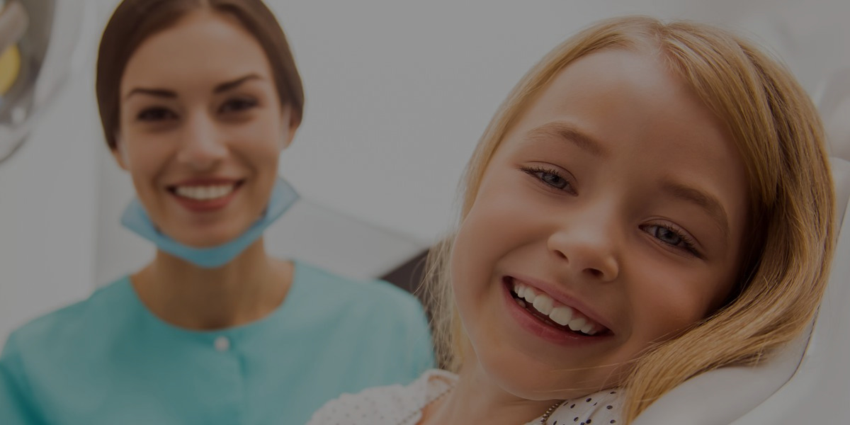 young girl getting orthodontic care